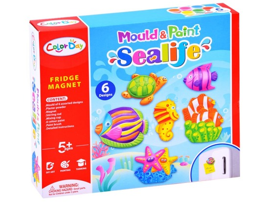 Creative set magnets water world ZA2879