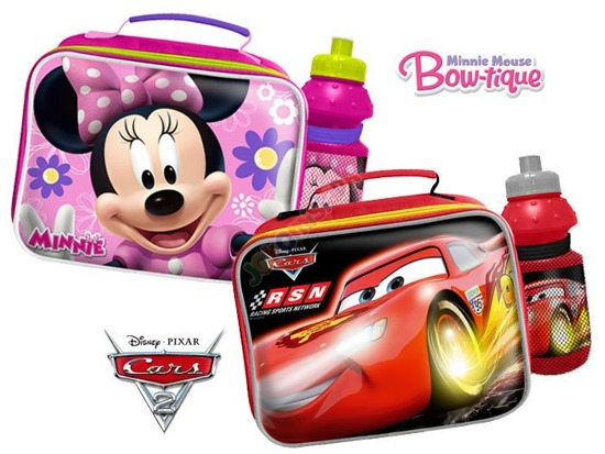Disney sandwiches + BAG BOTTLE Cars / Minnie SP0216