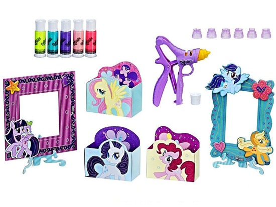 Doh Vinci set My Little Pony decor frame ZA2767