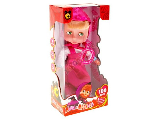 Doll Masha and the Bear says sings ZA1761