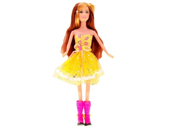 Doll cocktail dress long hair ZA1711
