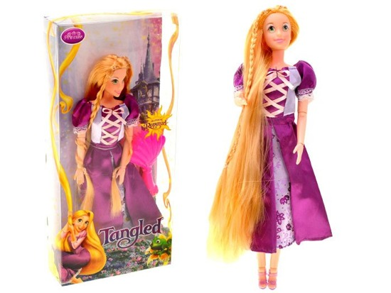 Doll fairy with long hair Tangled ZA1629