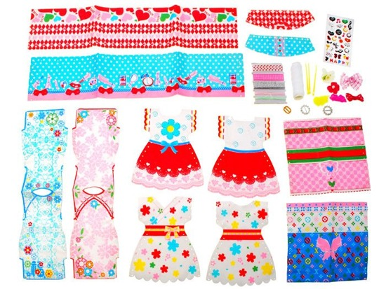 Doll kit for tailor sew clothes ZA1843