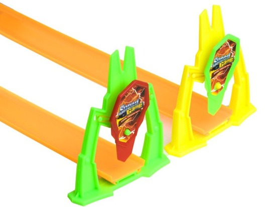 Double race track loop launcher ZA0868