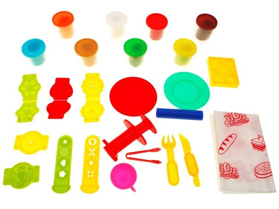 Dough dessert cakes Educational kit ZA1143