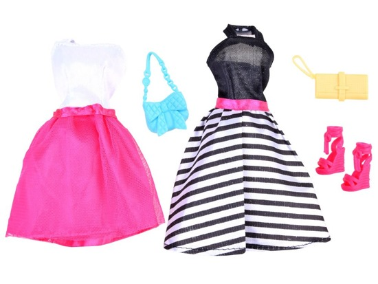 Dresses for dolls dressing clothes ZA 2463