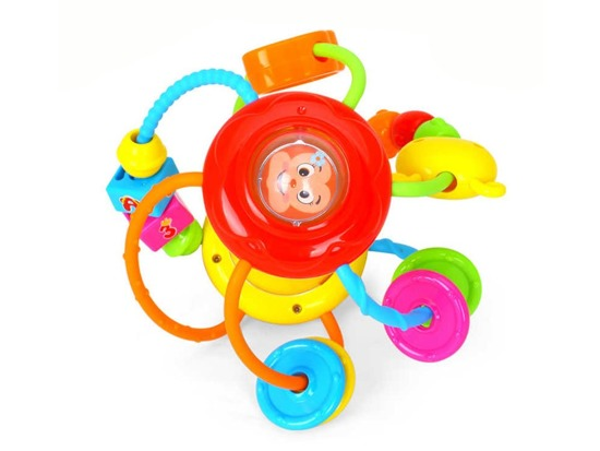 EDUCATIONAL COLOR BALL SPIRAL RATCHET ZA0604