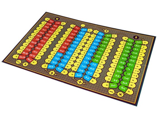 Educational board game Counting GR0286