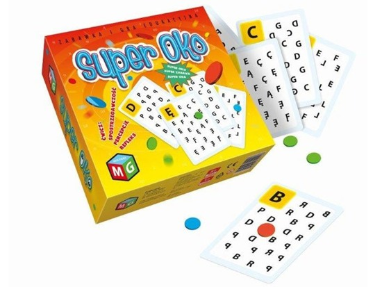 Educational game Super Oko Multigra Literki GR0288