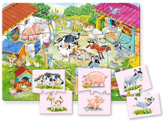 Educational puzzle Mom and baby CA0022