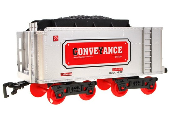 Electric train wagons IN REMOTE CONTROL RC0345