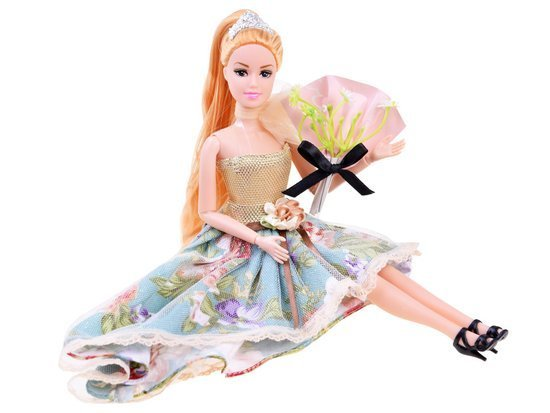 Emily Doll in a ball gown elegant shoes ZA3136
