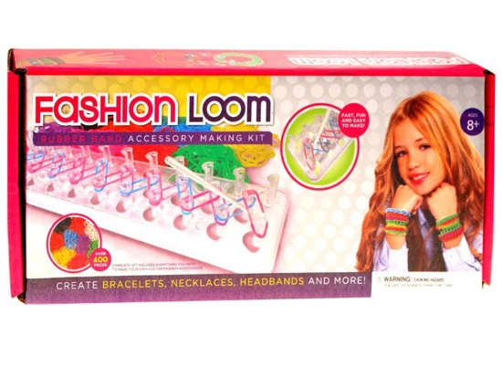 Erasers Rainbow Band Loom Starter 400pcs ZA0997