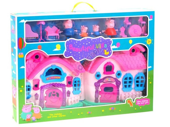 FAIRYTALE house Guinea Peppy figurines furniture ZA1598