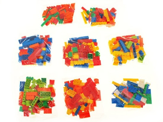 Fabulously colorful classic blocks 500el. ZA1292