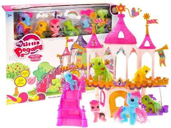 Fairytale Palace for Ponies fun horses ZA1776