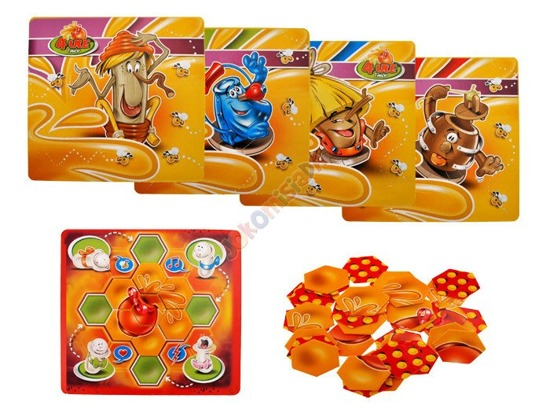 Family Board Game 4 Hives and Honey case GR0195