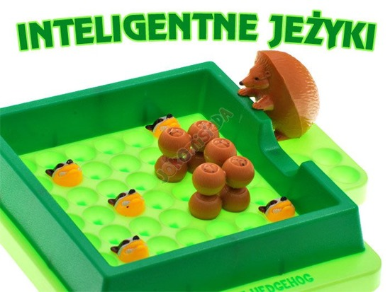 Family Puzzle game INTELLIGENT Hedge​hog ​GR0017