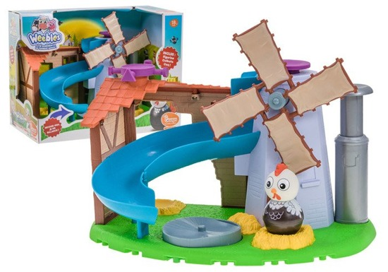 Farm for the toddler slide carousel ZA2292