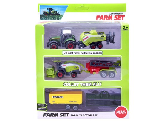 Farm machinery tractor set ZA2419