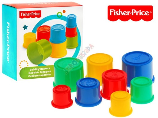 Fisher-Price Pyramid, cups bath ZA1875