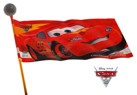 Flag flag on bike DISNEY CARS (SP0160)