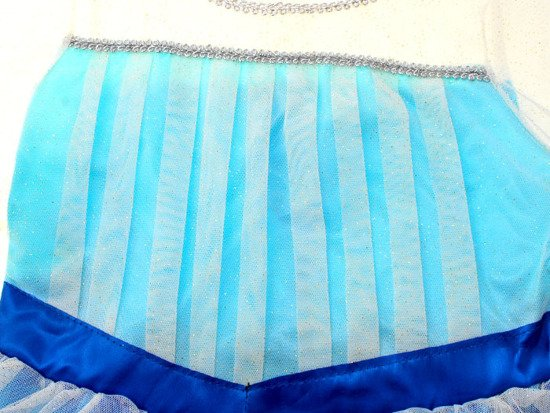 Frozen Ice DRESS for Elsa Anna 3-4L ZA0056