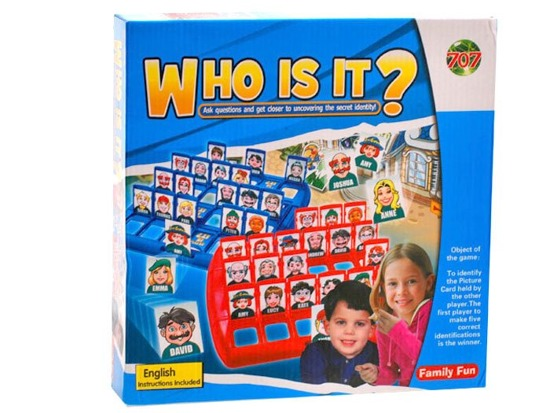 Funny Game Who is it ? GR0028