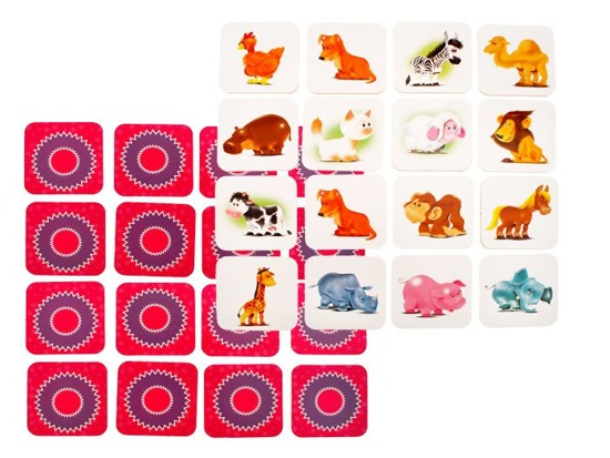 Game Animals Memory Puzzle Remember GR0202