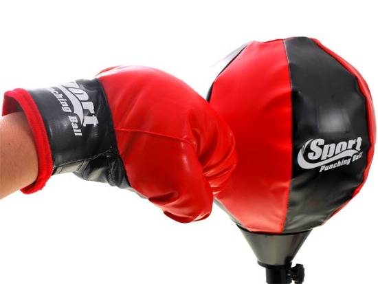 Gloves + pear set Boxing SP0366