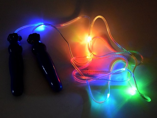 Glowing fabulous colorful LED rope SP0533