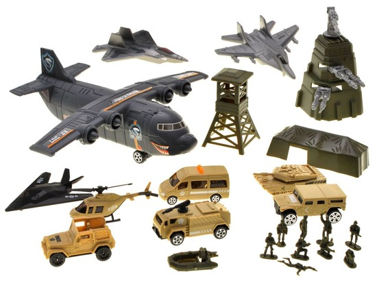 HUGE MILITARY BASE set of military ZA1746