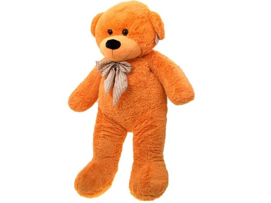 HUGE TEDDY BEAR Stefan with a bow 130cm ZA0768