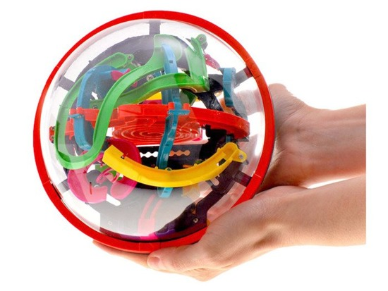 High SMART BALL 3D MAZE GR0054