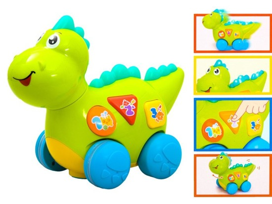 Interactive Dinosaur glows riding game of ZA2002
