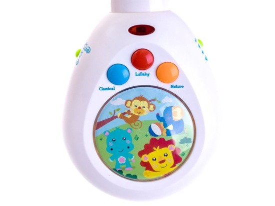 Interactive KARUZELA for remote control lullaby ZA0423