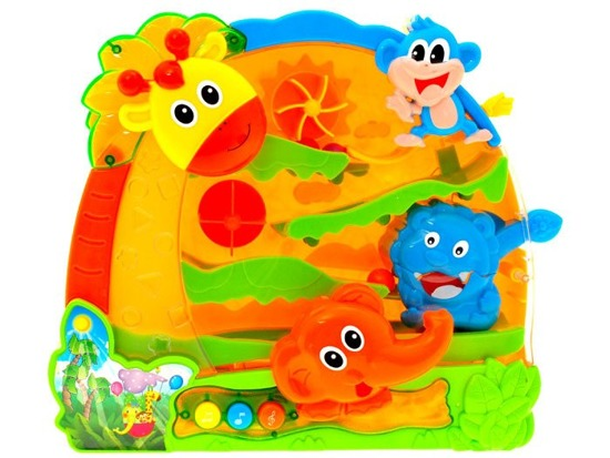 Interactive Toy Jungle slide ZA0770