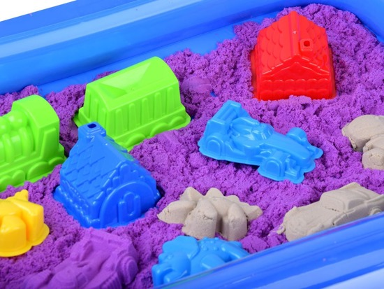 Kinetic sand with sandbox molds ZA2998