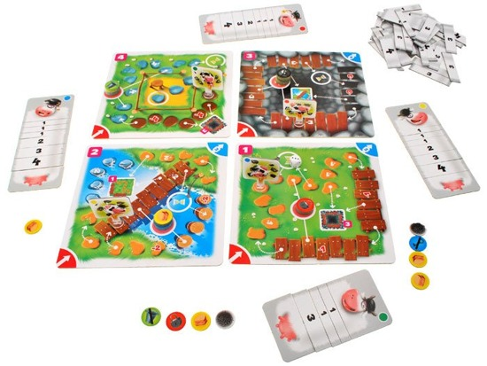 Krówkonosz board game adventure game GR0246