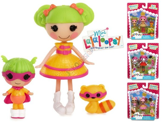 Lalaloopsy doll figurine + pet ZA1900