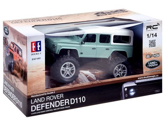 Land Rover all-terrain car with the EE RC0554 remote control