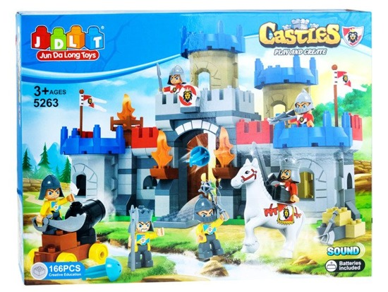 Large set of blocks CASTLE166el ZA2113