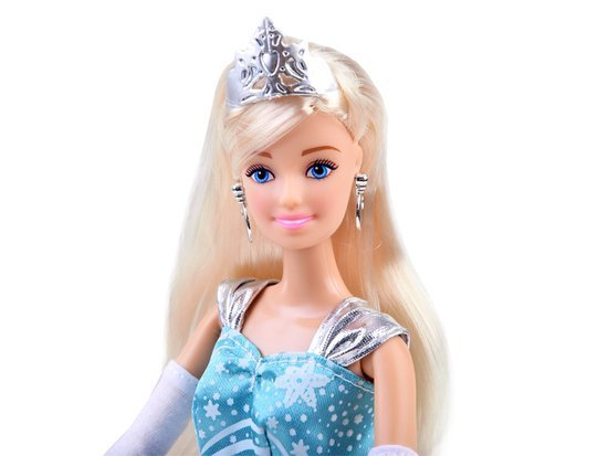 Lovely doll ice queen in a ball gown ZA2460
