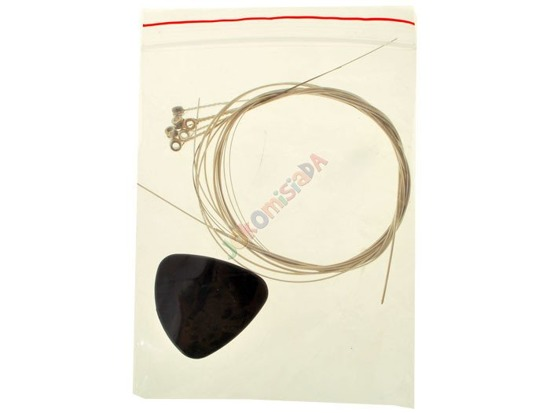 METAL GUITAR STRINGS FOR ROOKIE ROCK IN0048