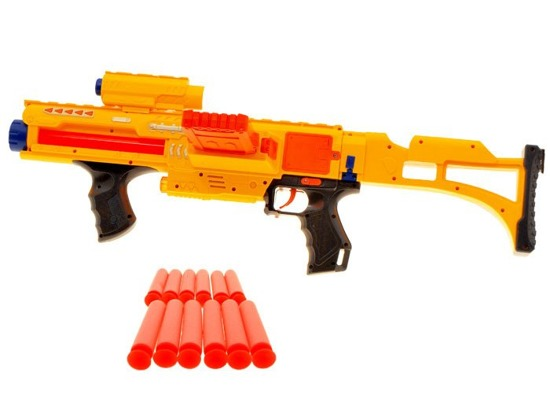Machine Gun MP18 + foam cartridges 24 ZA0927