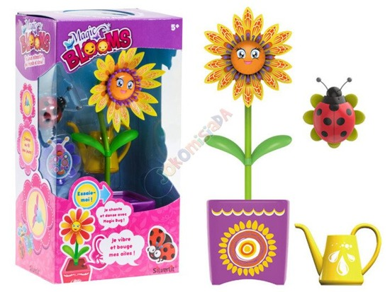 Magic Flower Magic Blooms worm singing ZA2302