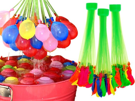 Magic colorful water balloons 111 pieces. ZA1649