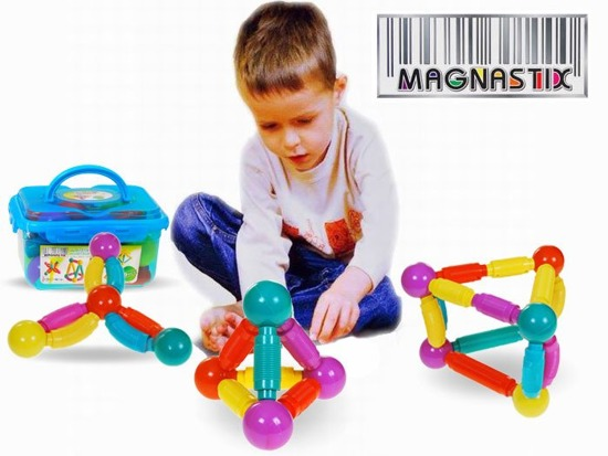 Magnetic bricks for small children 29ele ZA2505
