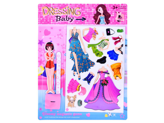 Magnetic clothes for dolls and dresses ZA2844