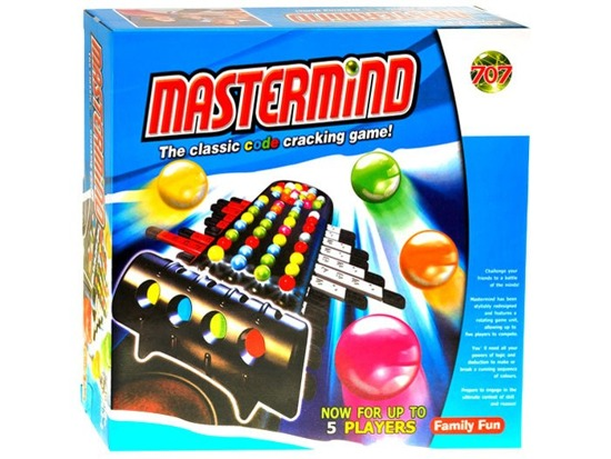 Mastermind logical game with balls GR0147